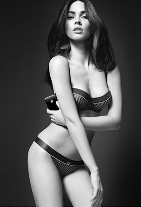 Megan Fox Apple iPhone