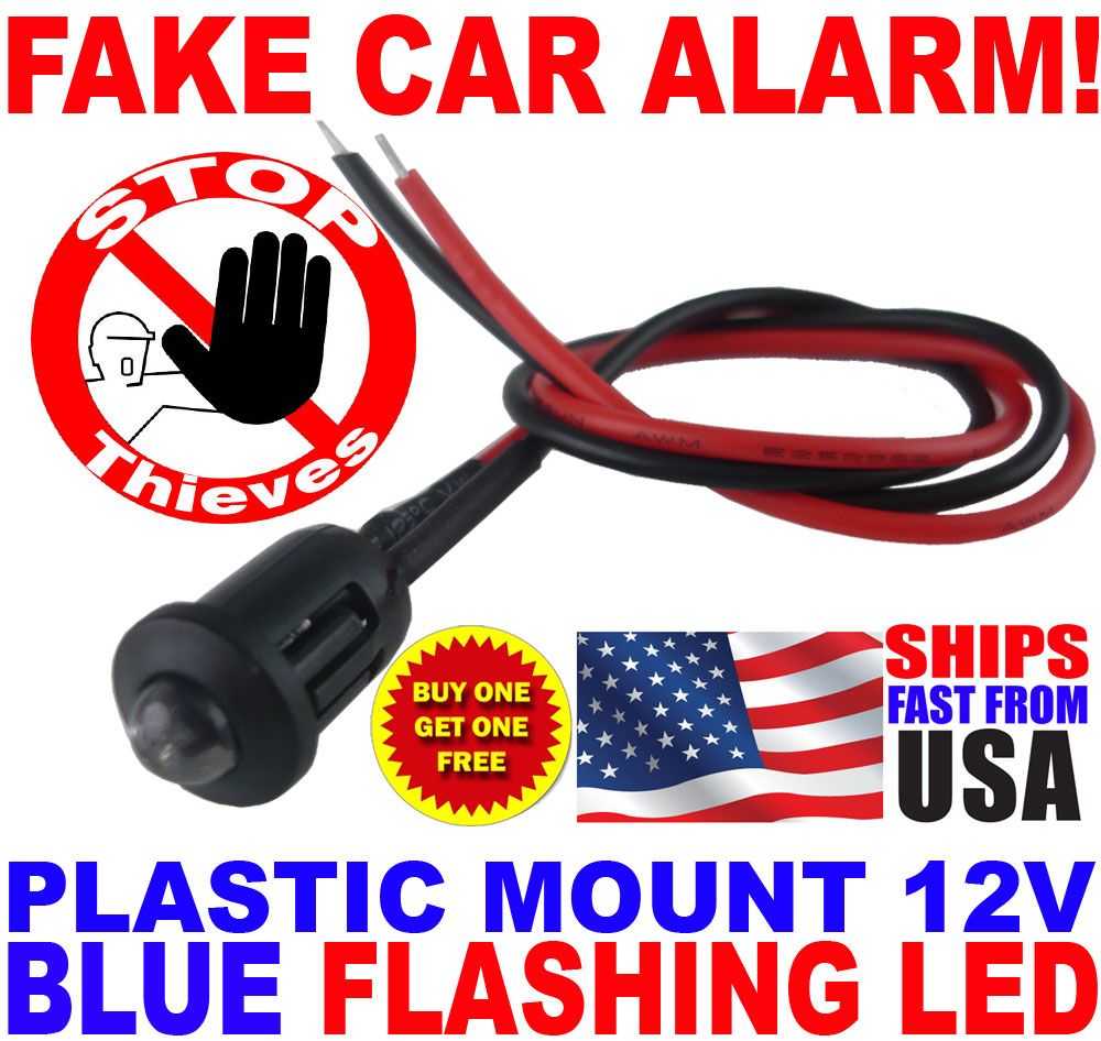 Faux Car Alarm with Flashing LED - Instructables