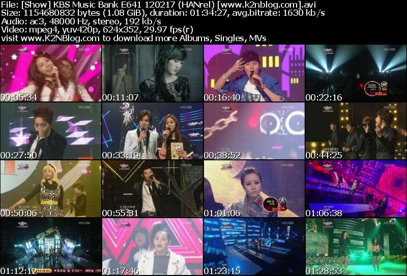 [Show] KBS Music Bank E641 120217