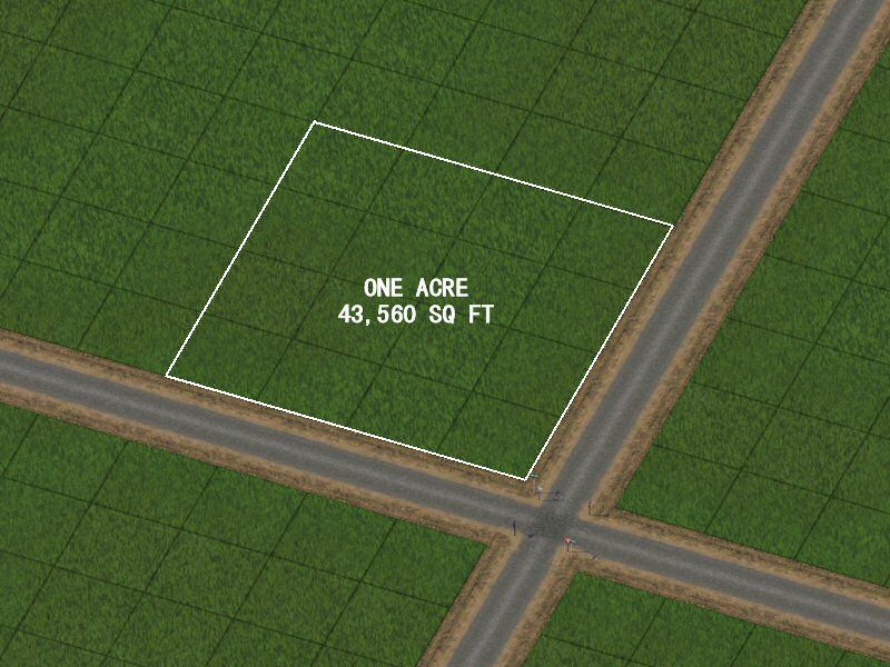 Three rivers region for 10000 sq ft in acres