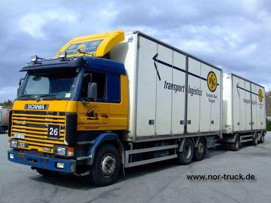 Ovp L 228 Ser 228 Mne Scania R143 Asg Transport Spedition