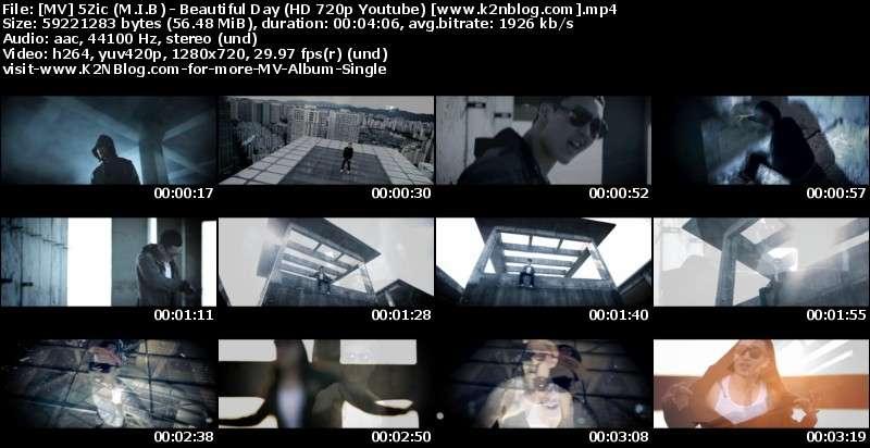 5Zic (M.I.B) - Beautiful Day MV Thumbnail
